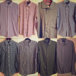 Other - 7 Button-Downs  *Tommy Hilfiger shirt is gone*